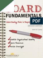 Board Fundamentals Understanding Roles in Nonprofit Governance BoardSource Digital Book