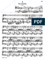 Schubert - Die Forelle (Sheet Music)
