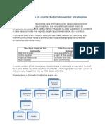 Decizii Executive in Contextul Schimbarilor Strategice