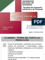 Clase 13 Teoria Del Costo Oferta de La Empresa Oct 5