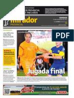Edición impresa del domingo 15 de noviembre de 2015