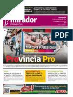 Edición impresa del domingo 29 de noviembre de 2015