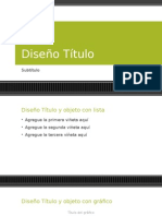 Plantilla de Power Point