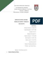 Informe Derecho Natural