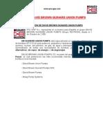 Catálogo Bombas - David Pumps Gear Systems