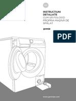 Manual utilizare Gorenje W7523