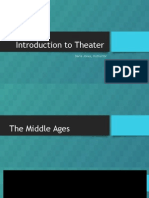 Introduction to Theater Middle Ages