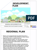 Regional Development Plan