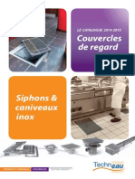 Catalogue Couvercles de Regards