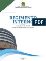 TRE PI Atualizacao Regimento Interno 4a Edicao Outubro 2015