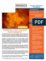 TFT 16 FLSP 011 Forensic Light Source Photography April 2016