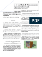 Analisis Termico de Planta de Almacenaje Termica