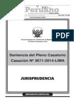 VII Pleno Casatorio - Corte Suprema