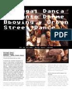 Bboying  - Dif Magazine (PT)