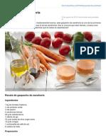 Webosfritos.es-gazpacho de Zanahoria