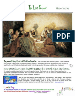 Day 5 - Thursday. the Last Supper and Gethsemane