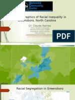 Graphic Display of Demographics of Greensboro