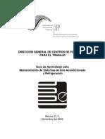 Guía de Aprendizaje Mantenimiento a Sistemas de Sistema de Aire Acondicionado