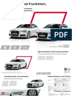 Audi S line-selection for A6 A7 20150508