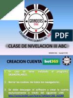 Clase Nivelacion ABC III 2015