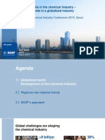 Raw materials in the chemical industry  – regional  trends in a globalized  industry