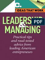 Leadership and Managing