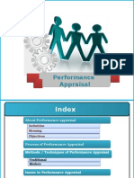 Performance Appraisal of Employees