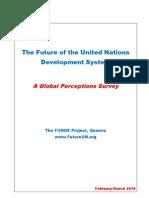 The future of the UN development system