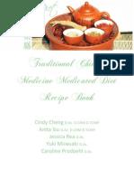 TCM Diet Group Recipe Book