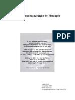 Het Transpersoonlijke in Therapie