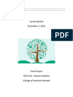 edu 214 final project