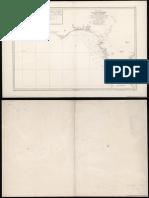 Carta Esférica de La Costa de España Desde Cabo S Vicente Hasta Pta Europa (BDH-BNE)