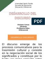 8. Desarrollo de Discurso