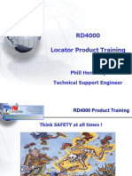 RD4000 Product Training
