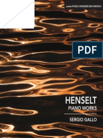 HENSELT, A. Von- Piano Works (Gallo)