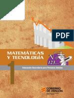 Matemáticas 1 ESO Adultos