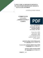curriculul - USEM - Criminalisitica 2013