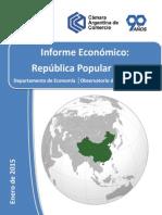 Informe Económico - CHINA - Cámara Argentina de Comercio