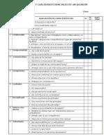 Evaluación - 17 Cualidades Esenciales de Un Jugador de Equipo