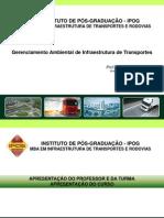 Gerenciamento Ambiental de Infraestrutura de Transportes
