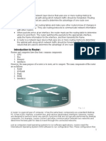 Router Study Material
