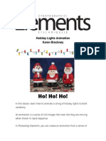 PET Holiday Lights Animation Cheatsheet