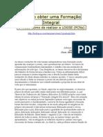 Alfonso López Quintás _ Como Obter Uma Formação Integral