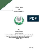 PSO Management Report