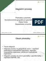 Integrační procesy