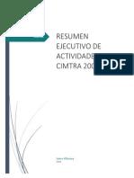 Informe de Actividades CIMTRA 2004