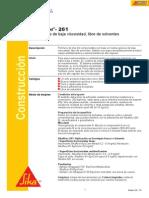 Sikafloor 261 PDS