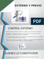 Control Externo y Previo