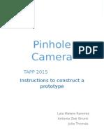 pinhole camera edit