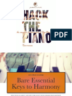 Piano Couture - Bare Essential Keys to Harmony